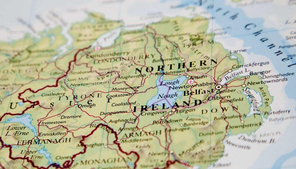 IrlandaMapa