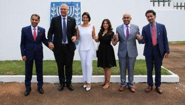 04/02/2021 Cerimônia - Doações Amazonas pela Embaixada de Isr