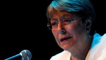 Chefe de direitos humanos da ONU, Michelle Bachelet