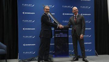 Michael-Amalfitano-à-esquerda___-Presidente-e-CEO-da-Embraer