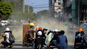 MyanmarProtesto