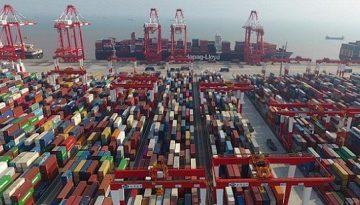 O-porto-de-Shanghai