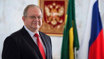 Sergey Akopov, Embaixador da Rússia no Brasil