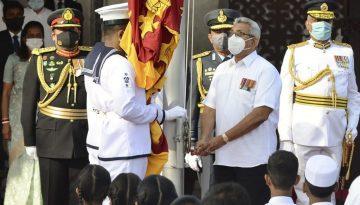 SRI LANKA-POLITICS-INDEPENDENCE DAY