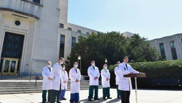 Dr. Sean Conley Updates Trump's Medical Condition